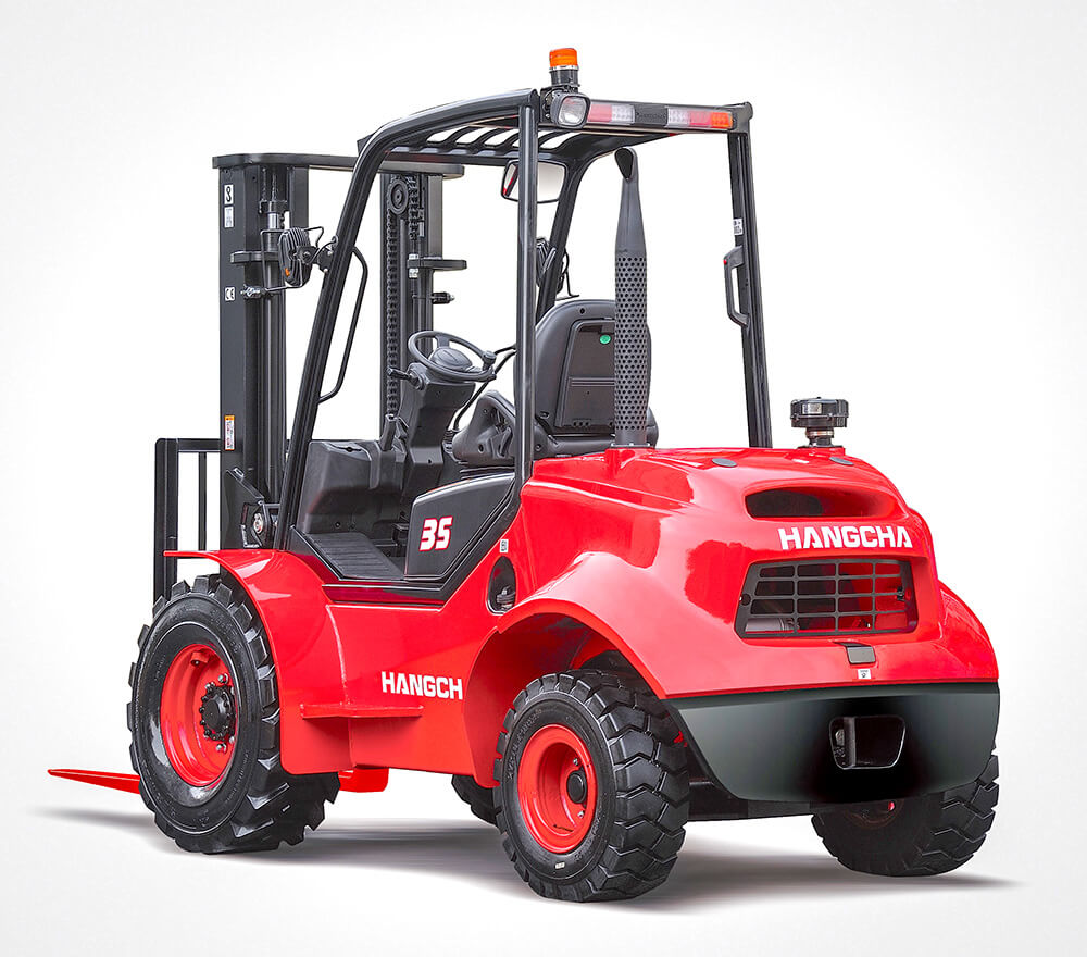 Hangcha 2 wheel Drive Rough Terrain 2.5-3.5 Tonne