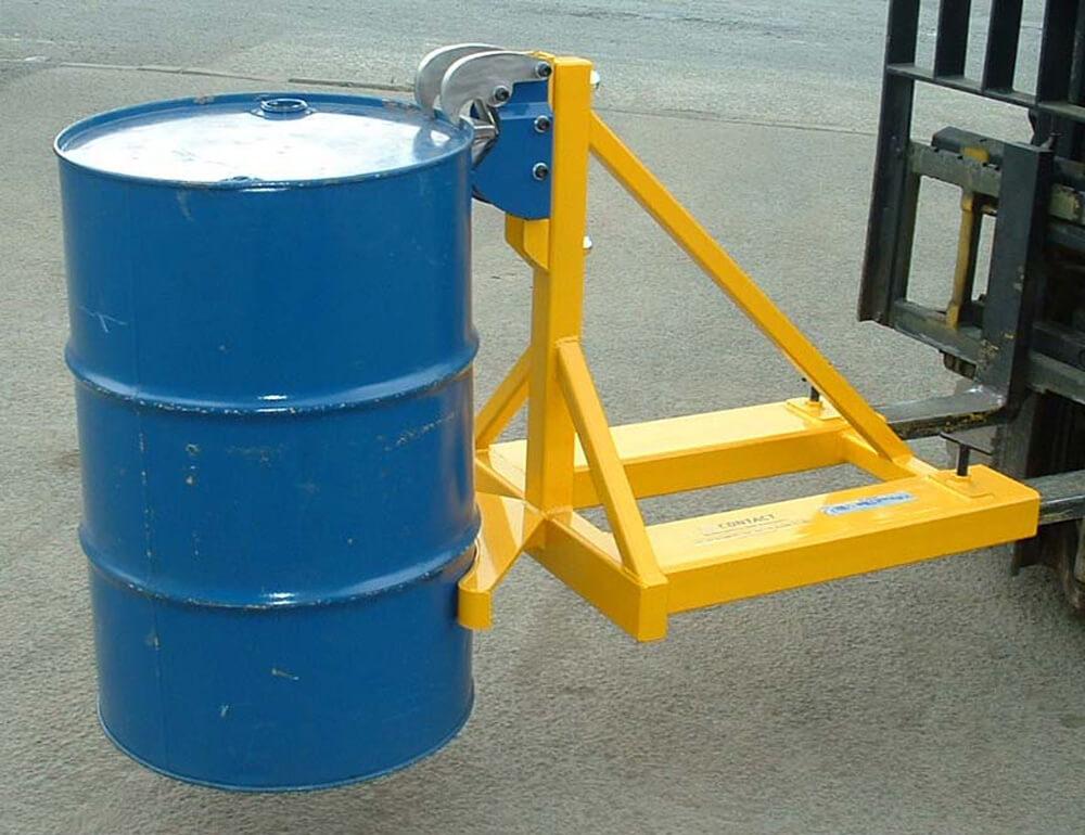 Rim Grip Drum Handler Single Steel or Plastic Drum
