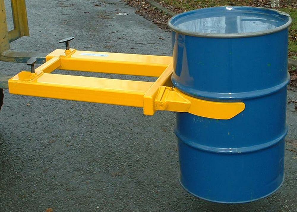 Fork Mounted Drum Grab Single Steel Drum
