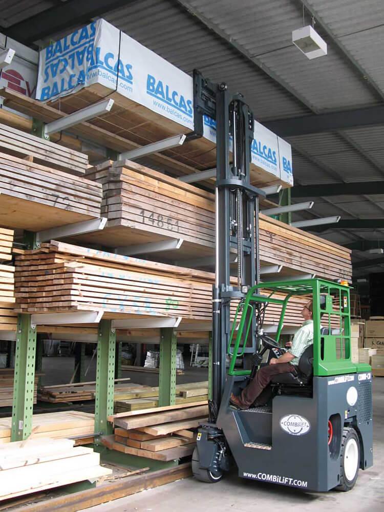 Compact Multi-Directional Forklift 2500Kg