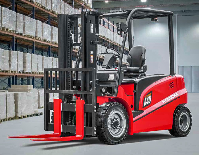 Hangcha Electric 4 Wheel Forklift - 4500kg Capacity