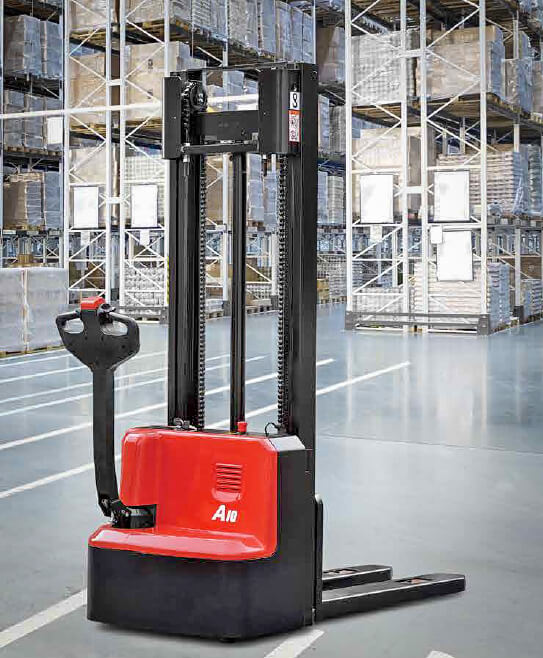 Hangcha Electric Pallet Stacker Mini Range Double Column - 1200kg Load Capacity