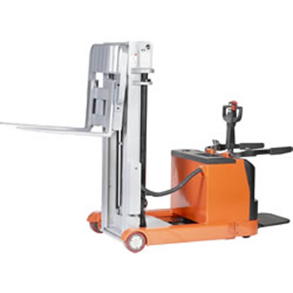 Electric Reach Stacker 1300kg Capacity - 3660 mm mast