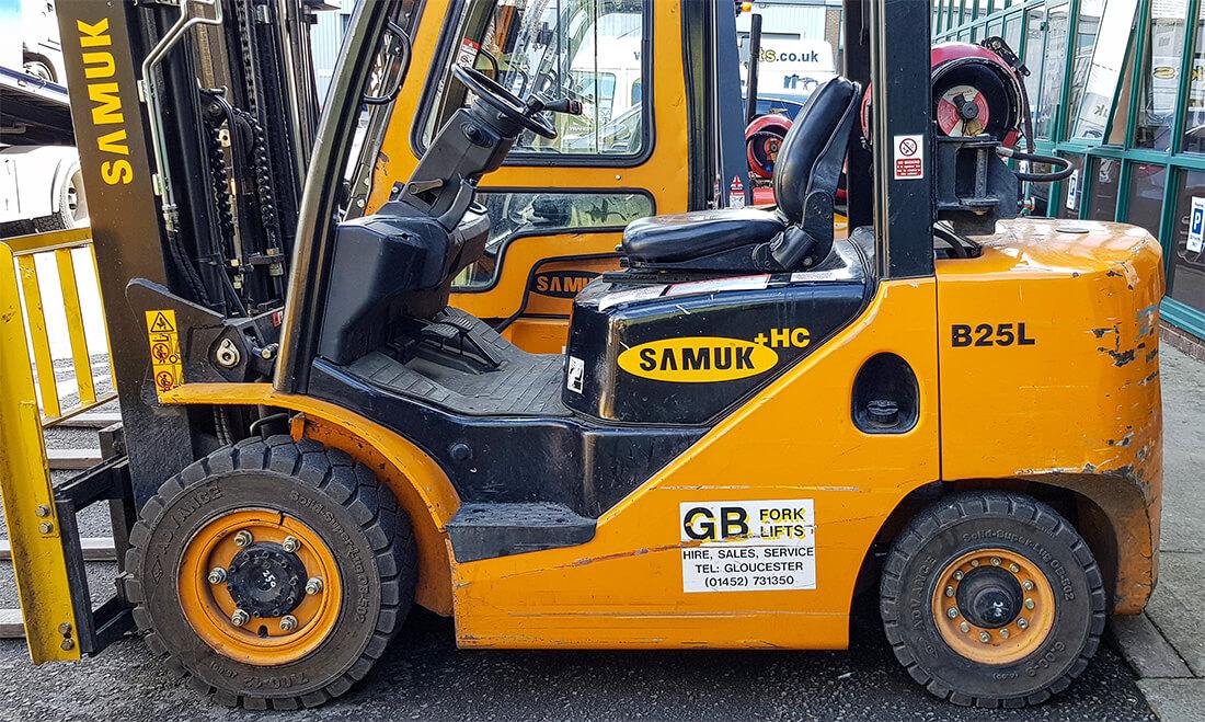 Samuk LPG Forklift B25L (Used)