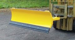 Fork Mounted Adjustable Snow Plough 2130mm Wide