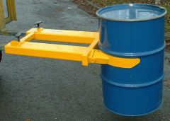 Fork Mounted Drum Grab Single Steel Drum