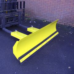 Fixed Snow Plough with Rubber Wearstrip