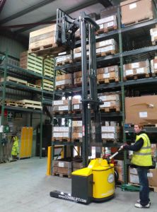 Combi Walkie Reach Truck Range