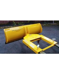 Fork Mounted Adjustable Snow Plough 1525mm Wide