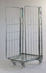 Two Sided Roll Pallet - Rod Infill