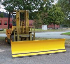 Fork Mounted Sprung Snow Plough 1830mm Wide