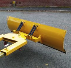 Fork Mounted Sprung Snow Plough 1525mm Wide