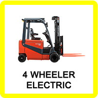 Four Wheeled Forklift
