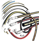 Assorted hoses and ferrules